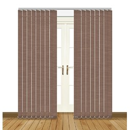 linenweave tweed vertical blinds uk