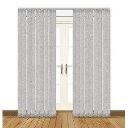 Eclipse Luxe Iron vertical blinds