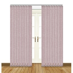 Eclipse Luxe Orchid Vertical Blinds uk