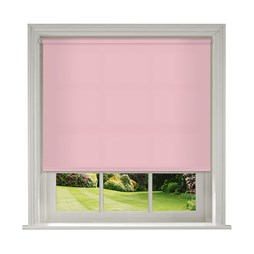 Banlight Duo Pink roller blind