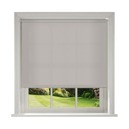 Banlight Duo Silver roller blind