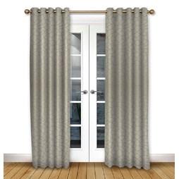 Glacier Driftwood eyelet curtain