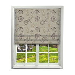 iLiv Alderney Grape Roman Blinds