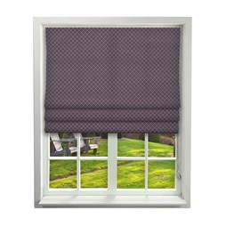 Arley Grape Roman Blinds