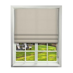 Cosmos Ivory Roman Blinds