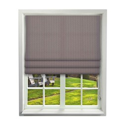 iLiv Cosmos Mulberry Roman Blinds