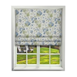 Country Manor Dusk Roman Blinds