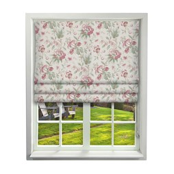 Country Manor Ruby Roman Blinds