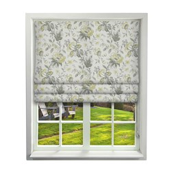Country Manor Flint Roman Blinds
