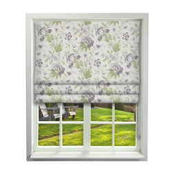Country Manor Grape Roman Blinds