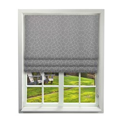 iLiv Glacier Flint Roman Blinds