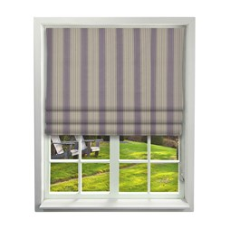Haddon Grape Roman Blinds