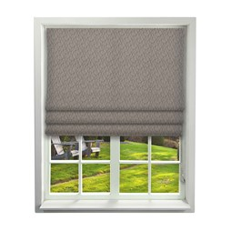 iLiv Mistral Mulberry Roman Blinds