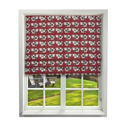 iLiv Moo Moo Scarlet Roman Blinds