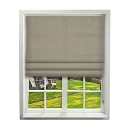iLiv Quartz Driftwood Roman Blinds
