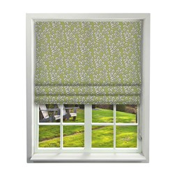 iLiv Scandi Leaves Kiwi Roman Blinds