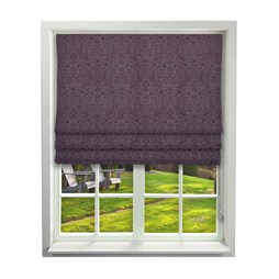 iLiv Serenity Mulberry Roman Blinds