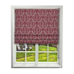 iLiv Song Thrush Ruby Roman Blinds