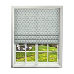 iliv tea garden aqua roman blinds