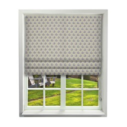 iliv tea garden cobalt roman blinds