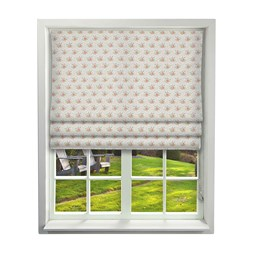 iliv tea garden poppy cot roman blinds