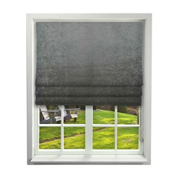iliv tilia chrome velvet roman blinds