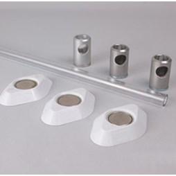 K530/10 Kestrel Polycarbonate Wardrobe Rail Set