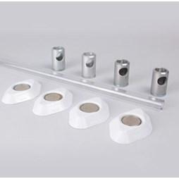 K530/15 Kestrel Polycarbonate Wardrobe Rail Set