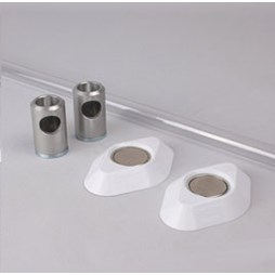 K530 Kestrel Polycarbonate Wardrobe Rail Set
