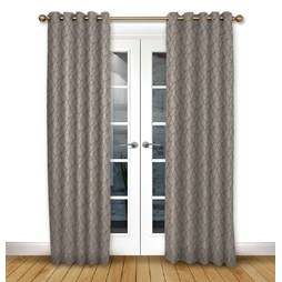 Mistral Mulberry eyelet curtain