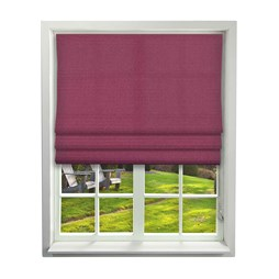 Porec Berry Roman Blind | Order Red Plain Online