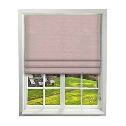 Porec Putty Roman Blind | Order Pink Plain Online