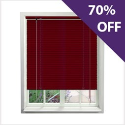 Aluminium Venetians now 70% off at Capricorn