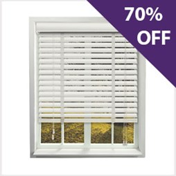 Pure wooden venetian blind now 70% off at Capricorn