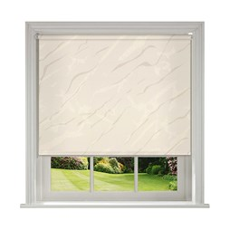 Sahara Cream blackout PVC roller blind