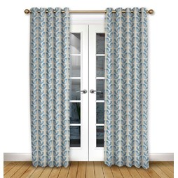 Scandi Birds Capri eyelet curtain