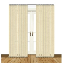 Splash Beige Vertical Blind Curtain & Blinds Online