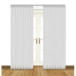 Splash Canvas Vertical Blind Curtain & Blinds Online