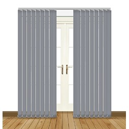 Splash Gable Vertical Blind
