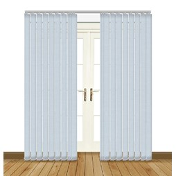 Splash Mineral Vertical Blind Curtain & Blinds Online