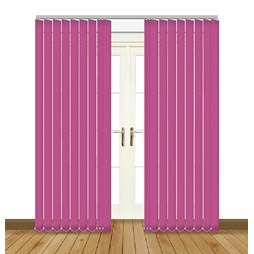 Splash Orchid Vertical Blind