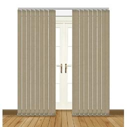 Splash Putty Vertical Blind Curtain & Blinds Online