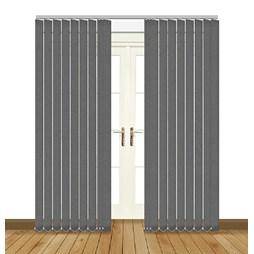 Splash Rock Vertical Blind Curtain & Blinds Online