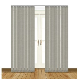 Splash Taupe Vertical Blind Curtain & Blinds Online