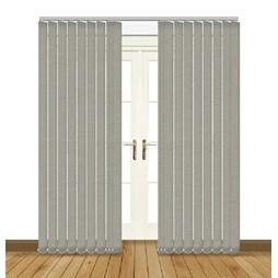 Splash Taupe Vertical Blind Curtain & Blinds Online