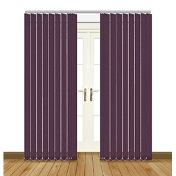 Unilux Aster blackout PVC vertical blind