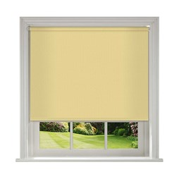 Unilux Buttercup blackout PVC roller blinds