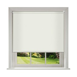 Unilux Cream blackout PVC roller blinds