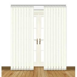 Unilux Cream blackout PVC vertical blind