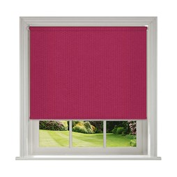 Unilux Flamingo blackout PVC roller blinds